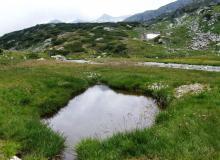 mehrere kleine Seen zwischen Franz Fischerhütte und Jakoberhütte im Lungau