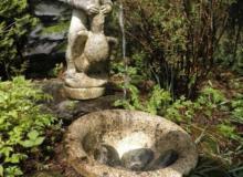 Brunnen an der Nordseite