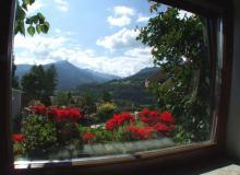 Ausblick aus dem Wohnzimmerfenster
