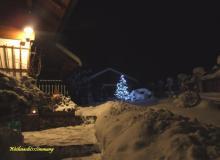 Weihnachtsstimmung am Ferienhaus