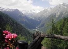 viele Wanderwege im Hochgebirge laden ein