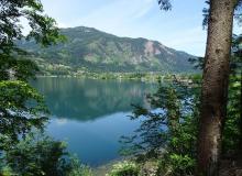 200 Seen gibt es in Kärnten, hier der Millstättersee
