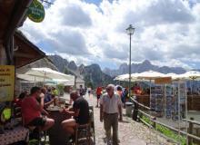 Bergdorf am Monte Lussari bei Tarvis