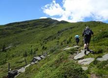 Aufstieg zum Mirnock