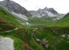 Aufstieg zur Franz-Fischerhütte im Lungau