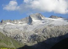 Hochalmspitze mit Großelendtalgletscher