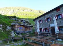 Osnabrückerhütte am Stausee