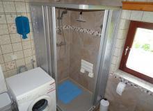 Dusche  Waschmaschine